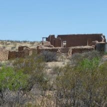 Old Hachita in New Mexico