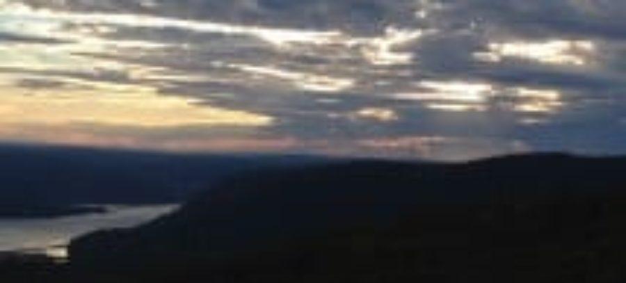 Sunset Near Bear Mountain