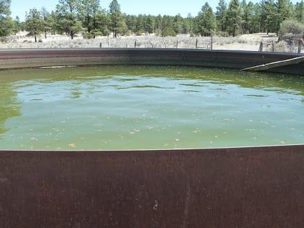 Water Tank near Reserve, NM