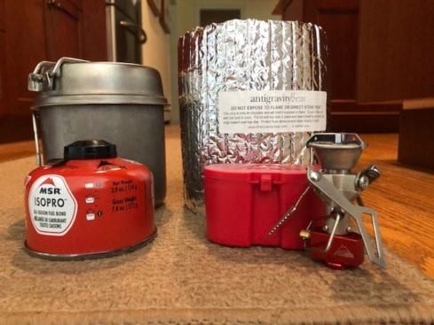 Backpacking Cooking Kit Review