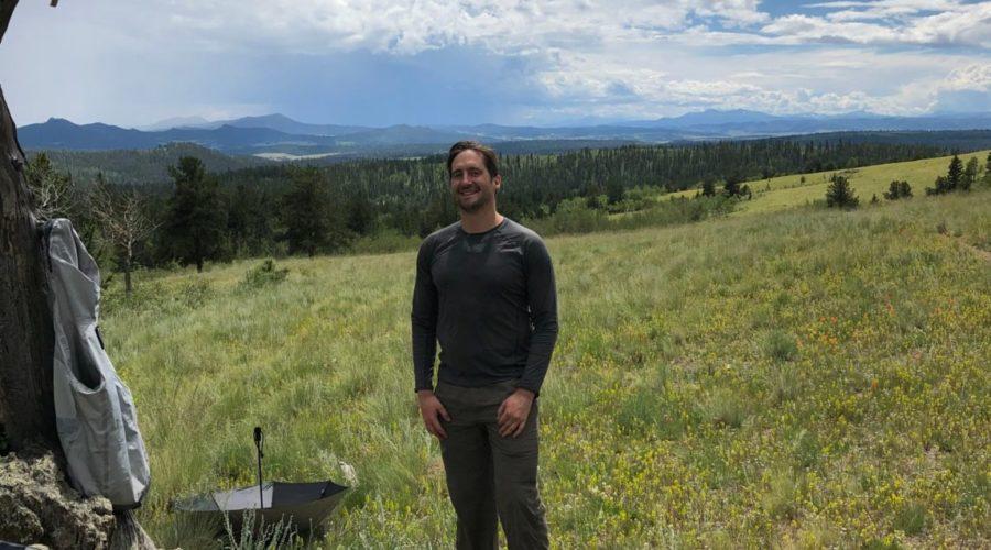 Jordan on Colorado Trail