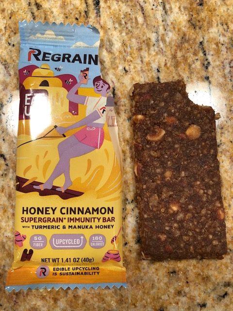 Honey Cinnamon Regrain Bar