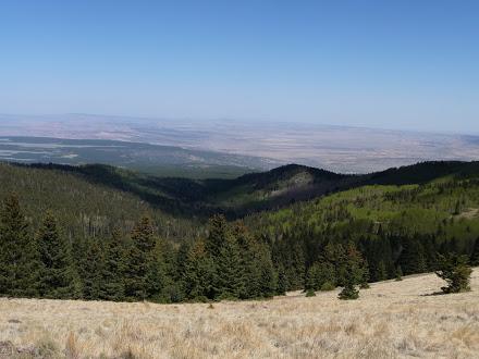 Mt Taylor Climb Views