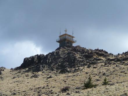 Observation Tower on Mt Taylor