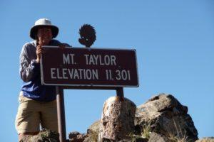 Mount Taylor – CDT 2009   Average Hiker
