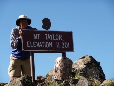 Mt Taylor Summit