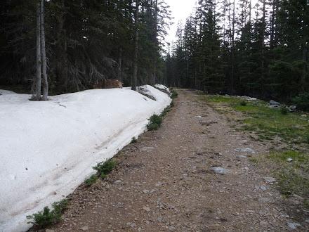 San Pedro Peaks Snow