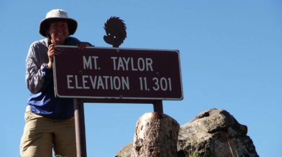 Mount Taylor on the CDT