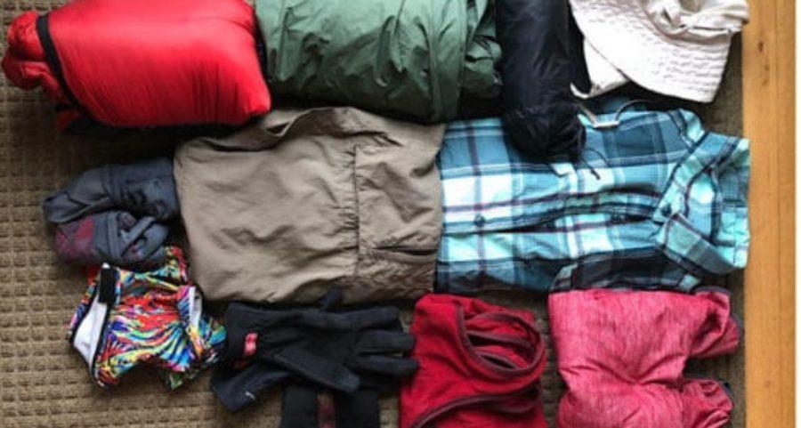 Arizona Trail Clothing Layers   Average Hiker