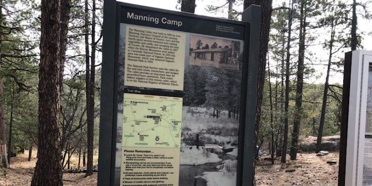 Manning Camp Information Board