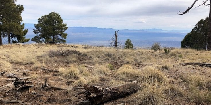 Small Plateau after Mica Peak