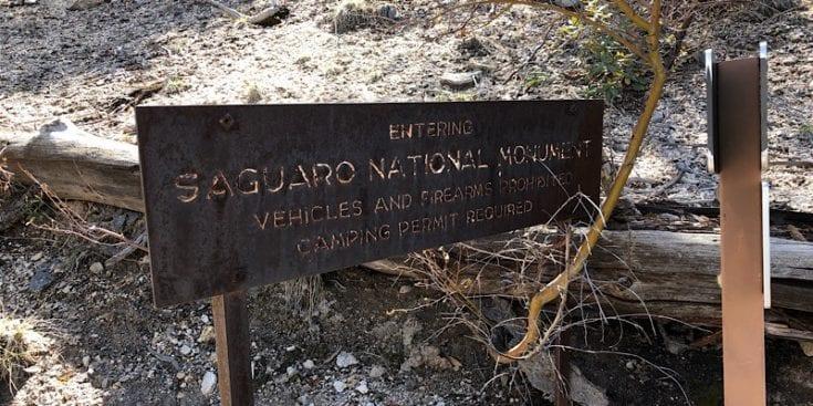 Leaving Saguaro National Monument