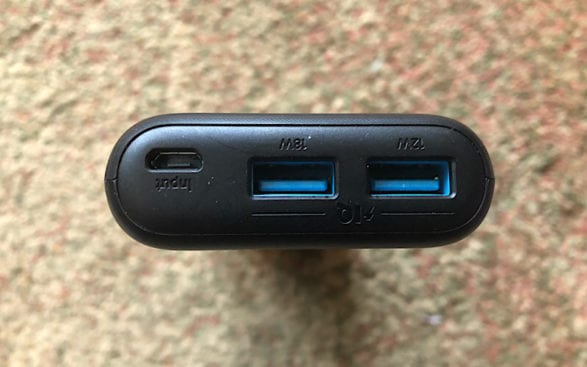 Backpacking Electronics and Gadgets - Anker Battery 20,000 mAh
