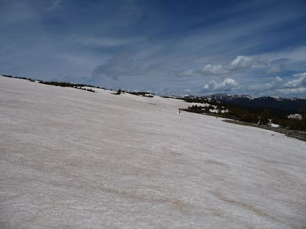 Snow Covered Slope - Continental Divide Trail