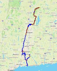 new england trail map