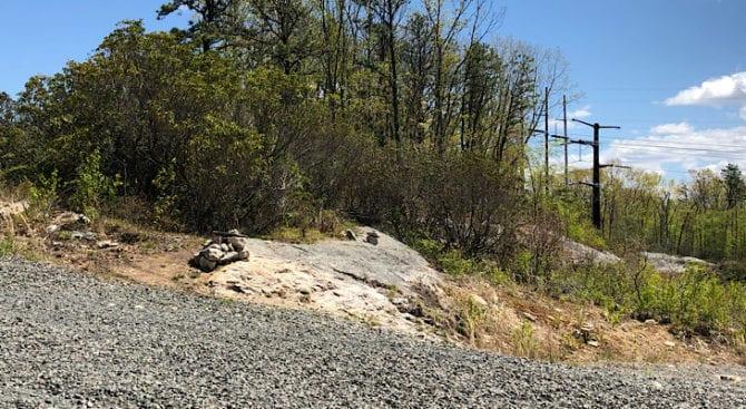 mattabesett rock cairns