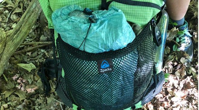 large mesh pocket with altaplex