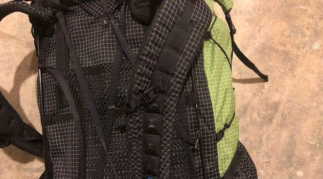 S shaped shoulder strap
