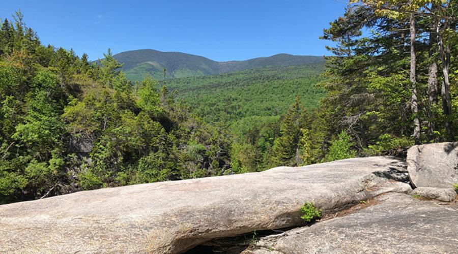 Thoreau Falls View from Rocks at Top