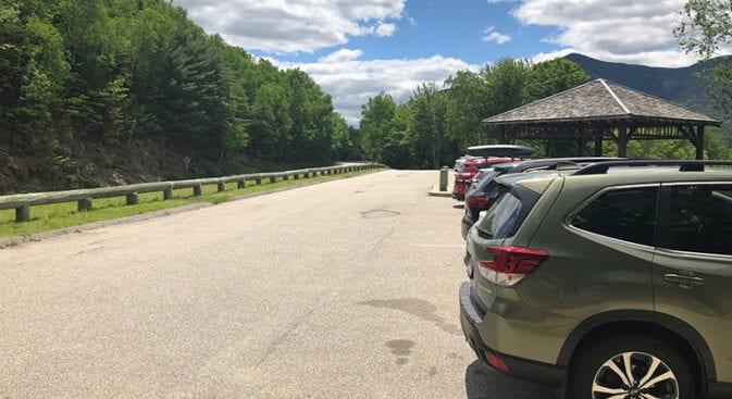 Hancock Parking Area
