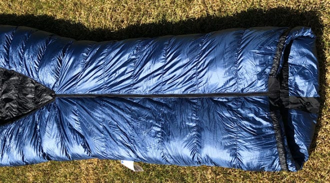 quilt lower zipper