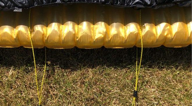 cords loose on neoair pad