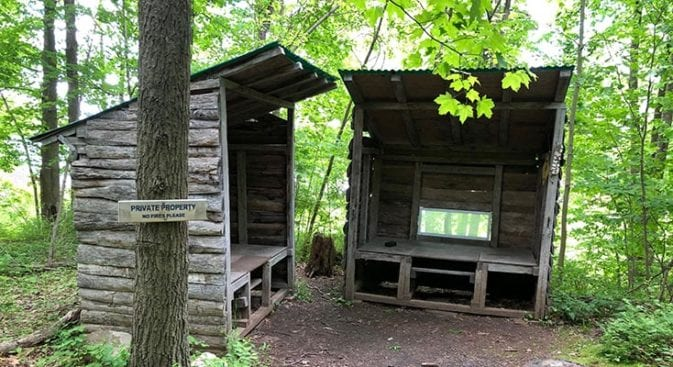 new england trail cattail shelter