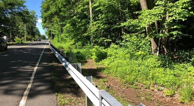 new england trail resumes end of section 9