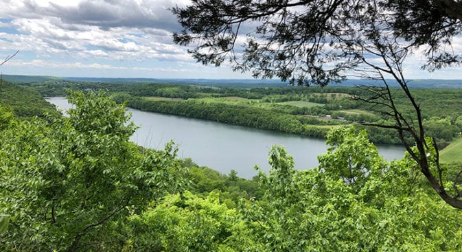 new england trail tri-mountain view