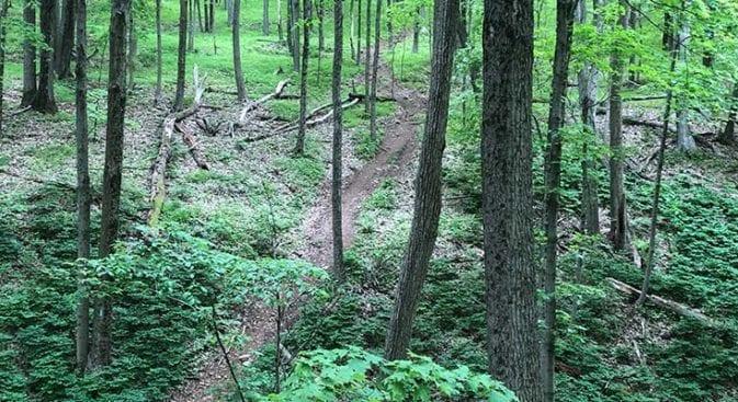 new england trail begins climbing again