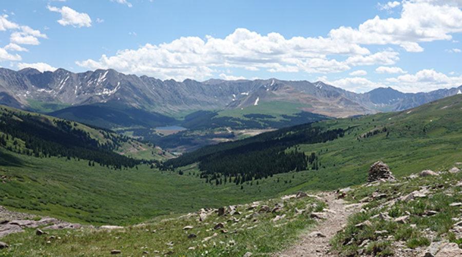 Colorado Trail on the way to Koko Pass