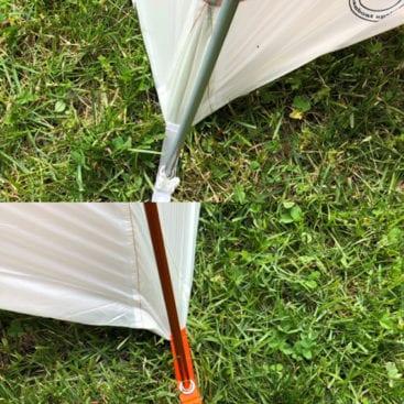 Copper Spur Tent Legs
