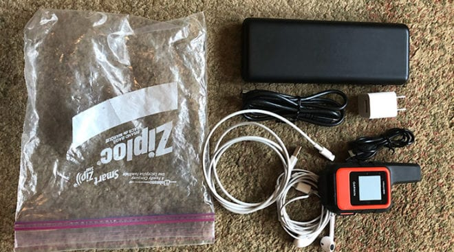 Electronics for Backpacking