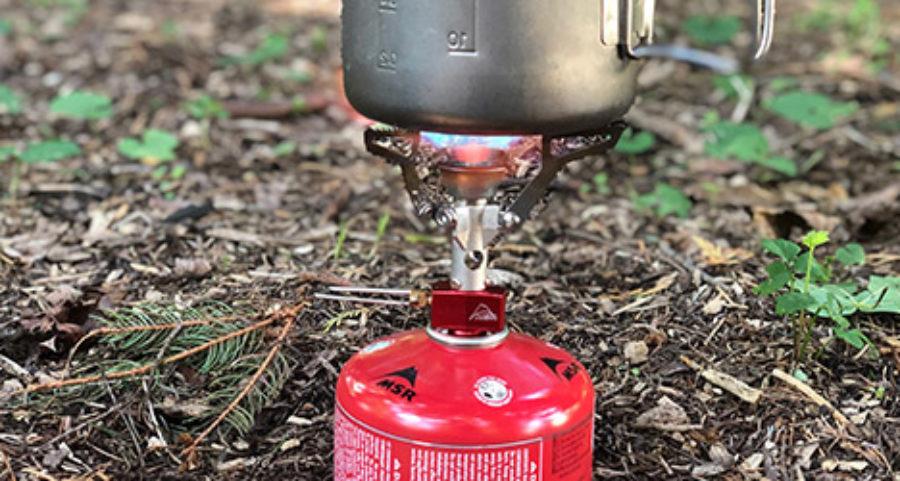 msr pocket rocket stove with pot