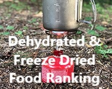 dehydrated and freeze dried food ranking