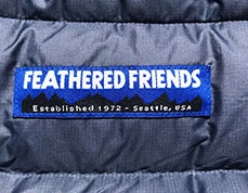 feathered friends womens eos jacket for backpacking by average hiker