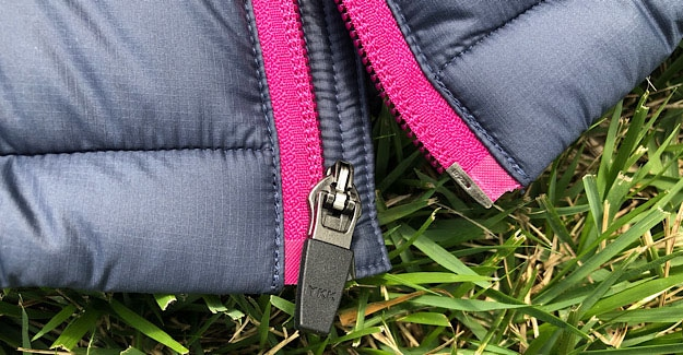 Durable zippers on the EOS