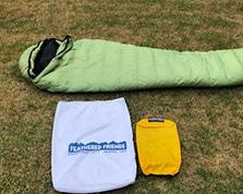 feathered friends lark sleeping bag for average hiker