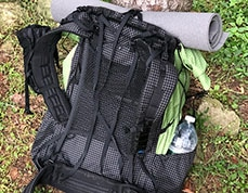 gossamer gear thinlight pad for backpacking by average hiker