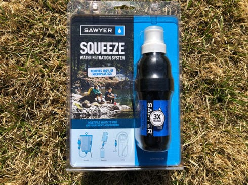 sawyer squeeze filter