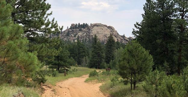Terrain Near Scraggy Trailhead