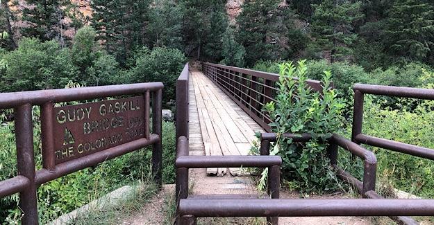 South Platte River backpacking average hiker