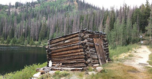 Old Cabin on Boss Lake Damn