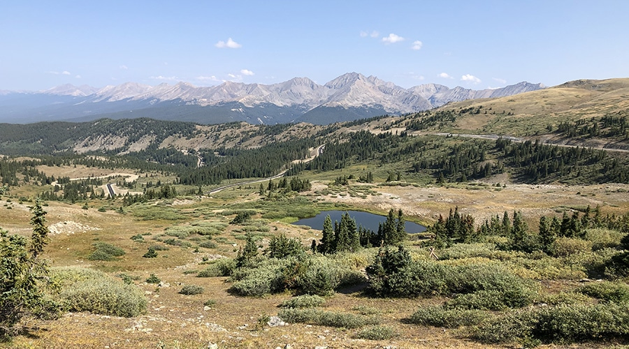 Colorado Trail Day 23 Backpacking Near Cottonwood Pass