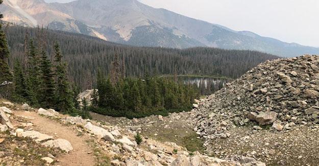 Views Hiking along Ridgeline Near Monarch Pass