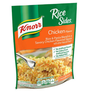 Chicken Knorr Rice Side