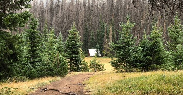 Lean To out of Monarch Pass