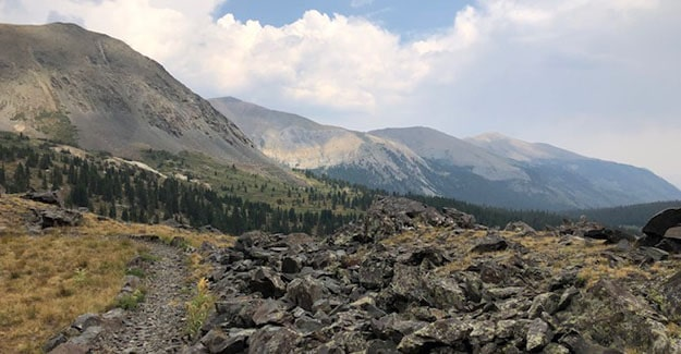 Colorado Trail Day 22 Near Sanford Saddle