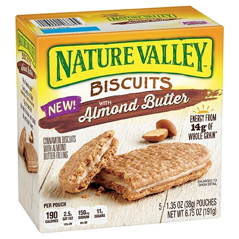 Nature Valley Almond Butter Breakfast Biscuits