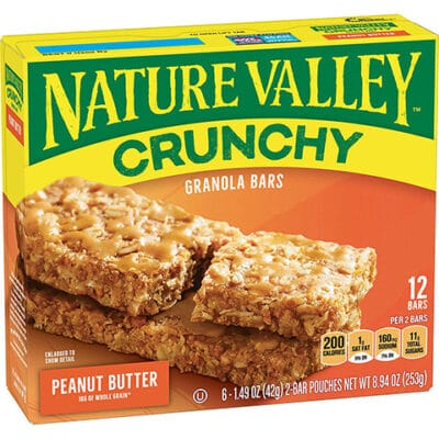Nature Valley Crunchy Peanut Butter Bars